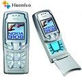 3108 100% Оригинальный разблокированный Nokia 3108 мобильный телефон 1 45 дюймов GSM старый дешевый телефон один год warrnty отремонтированный Бесплатная...