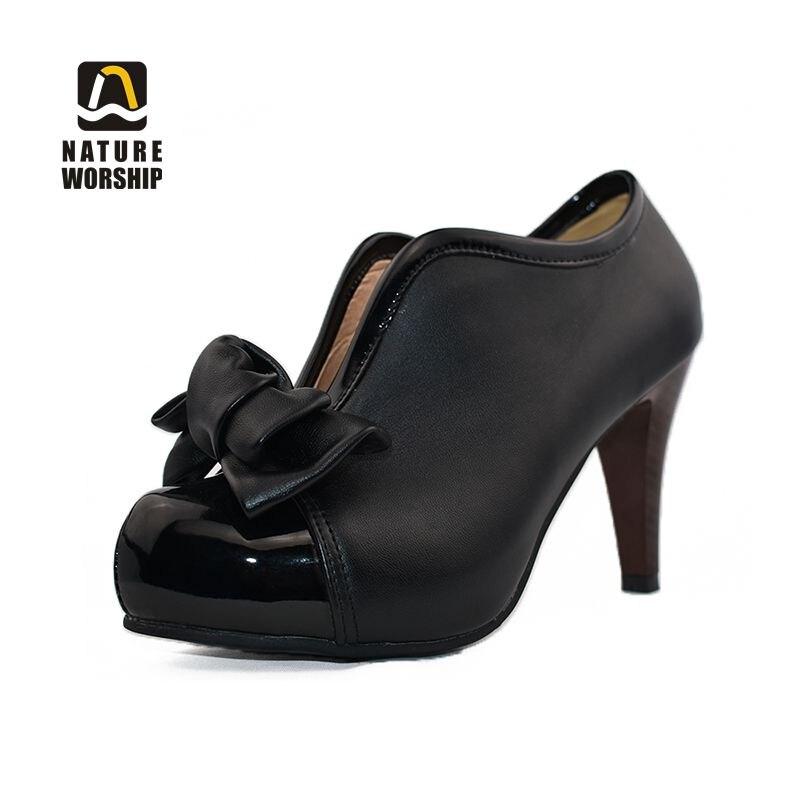 db5ab57df Весенне-осенние туфли-лодочки, обувь большого размера, женская обувь на  платформе и