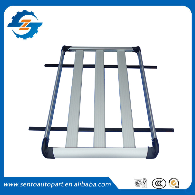 High quality 100*90cm Aluminium alloy Universal Luggage Carrier Fit For SUV Car Luggage Rack