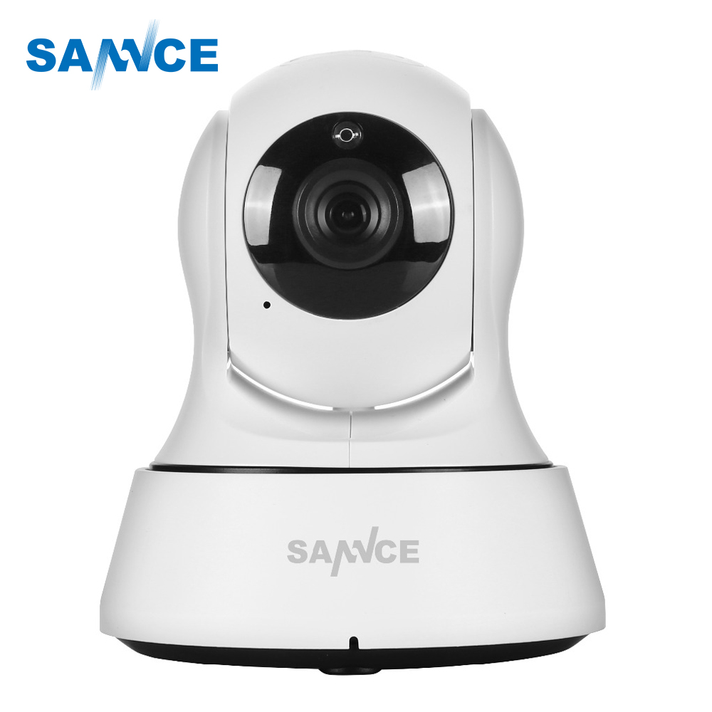 SANNCE HD 720P IP Camera Wifi Home security P2P surveillance Indoor CCTV 6pcs Leds  IR Cut Night Vision Wireless IP Camera  3.6m