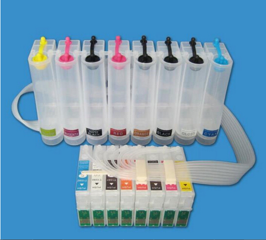 Continuous Ink Supply System For EPSON R2000 Photo R2000 CISS CIS Empty купить недорого в Москве