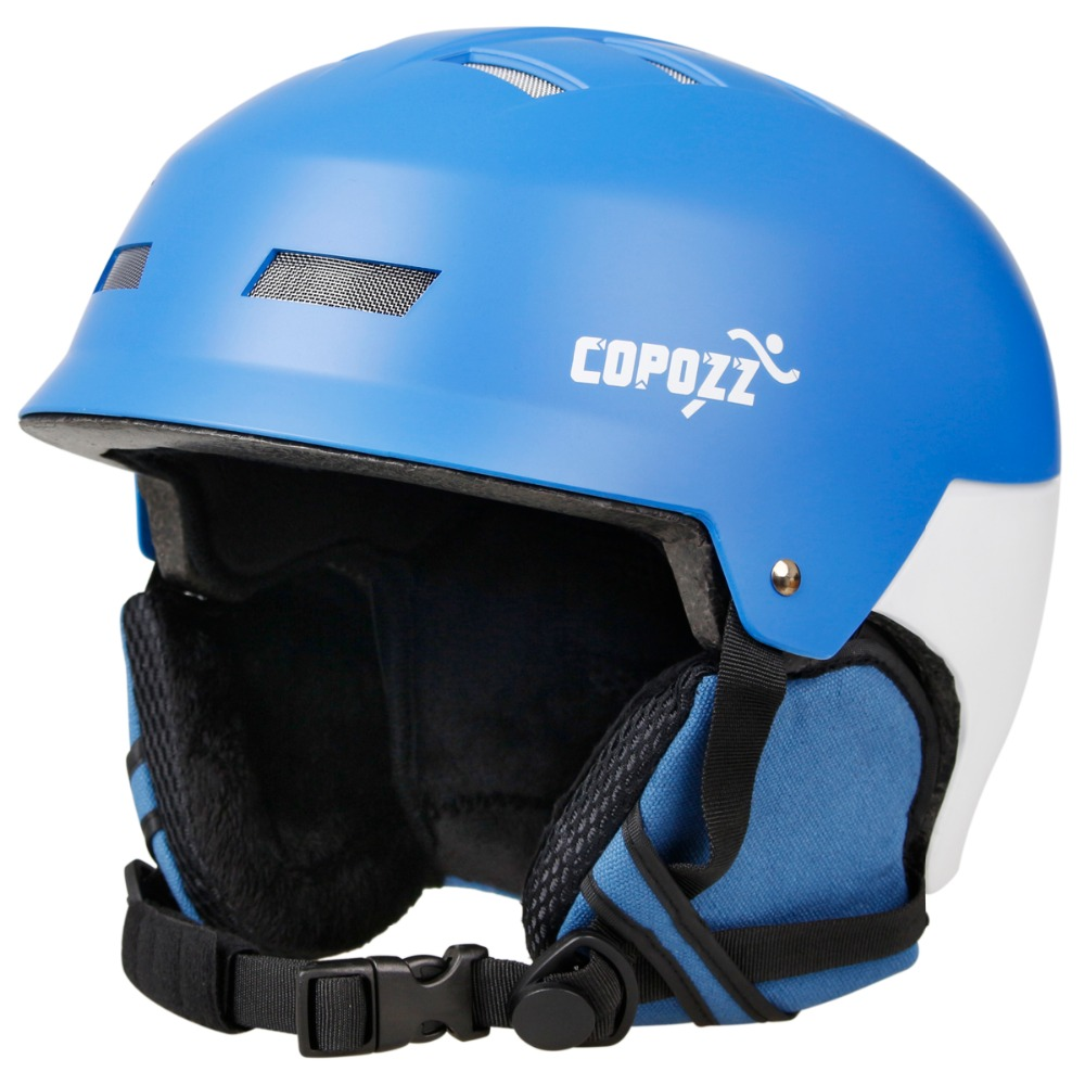 2017 Copozz Ski helmet Ultralight and Integrally-molded Breathable Snowboard helmet men women Skateboard helmet Blue and Pink