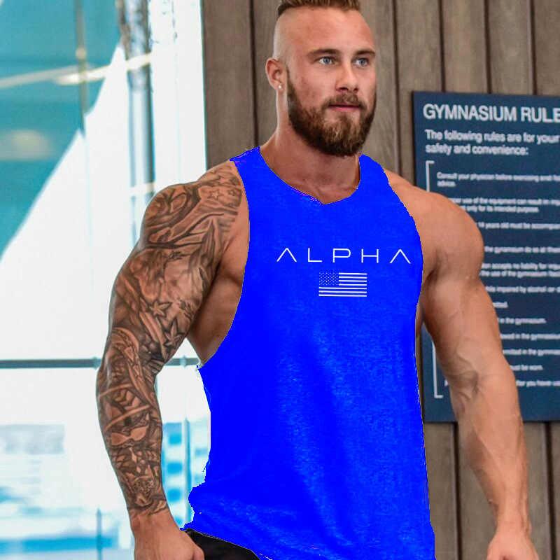 Siedem Joe nowe mody bawełniane koszulki bez rękawów tank top mężczyźni koszulka treningowa męskie podkoszulek kulturystyka trening koszulka na siłownię fitness mężczyzn