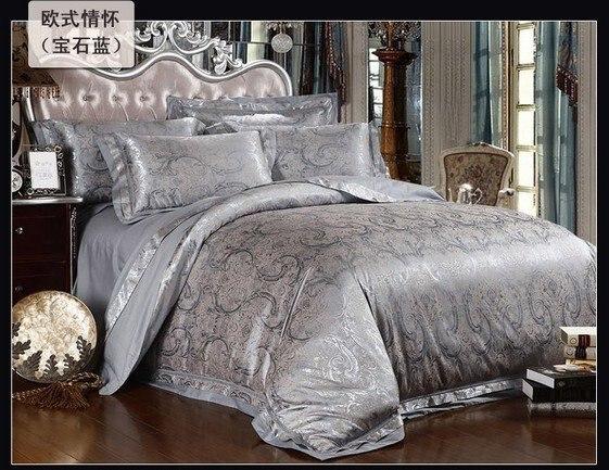 120435 100% Tencel Luxury4pcs bedding set/  bedding  European-style home textile  free shipping