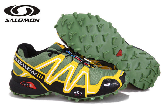 Salomon SPEEDCROSS 3.5 Outdoor Men Trekking Shoes Flywire Athletic Sport speed cross 3 male Hiking Shoes Camouflage Sneakers