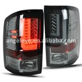 For GMC Sierra Led tail lamp 2014-UP Year Smoke Black Color taillight SN