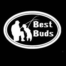 Fishing Sticker Name Fish Kid and Father Decal Angling Hooks Tackle Shop Posters Vinyl Wall Decals Hunter Decor Mural Sticker
