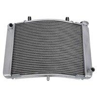 Серебристый двигатель Радиатор Охлаждение охладитель для Honda NSR250 1991 1998 1995 мотоцикл Алюминий