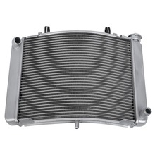 Silver Engine Radiator Cooling Cooler For Honda NSR250 1991-1998 1995 Motorcycle Aluminum