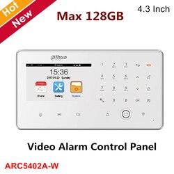 Dahua беспроводная панель управления видео сигнализацией 4,3-дюймовый TFT экран 480*272 разрешение макс. 128 ГБ sd-карта DC12V2A ARC5402A-W