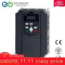 380 В в 7.5KW AC привод переменной скорости/Преобразователь частоты/VFD/ac привод/преобразователь частоты