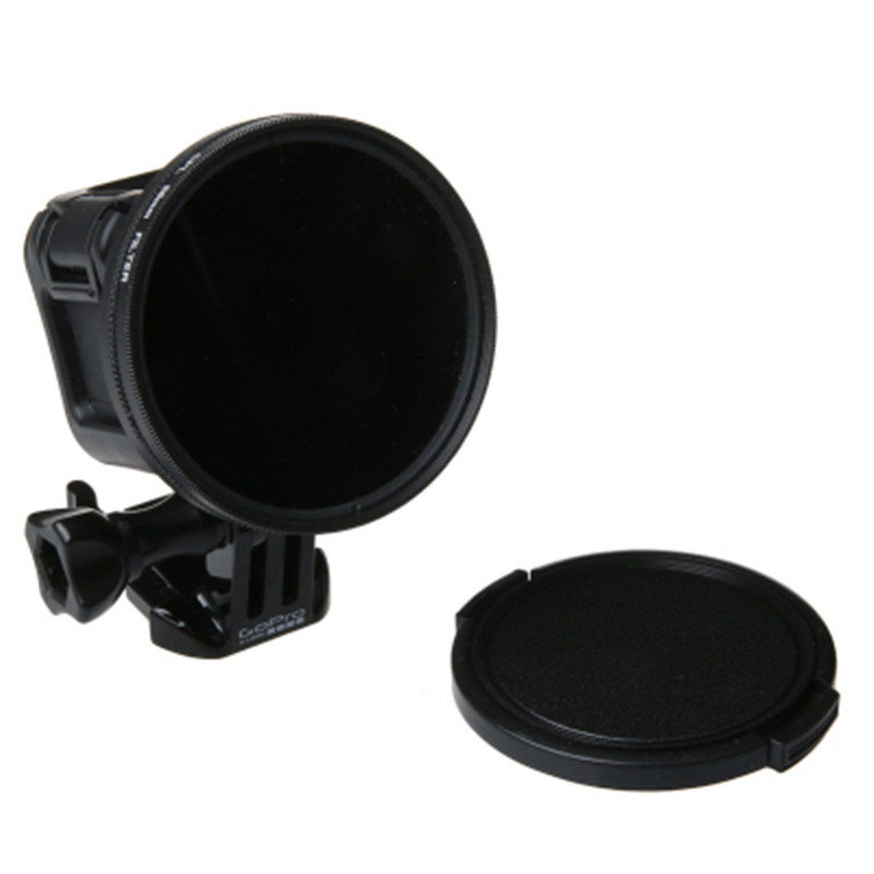 58mm Cpl Lens Filter Uv Lens Filter Cap With Ring Cap For Gopro 5s 4s Go Pro 5 4 Session 4k Action Sport Camera Accessories