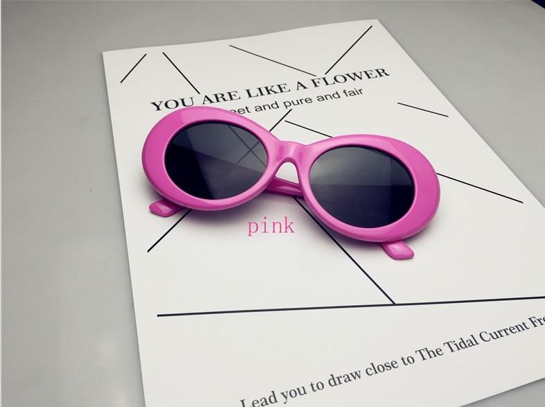81ac7fb6fb Hommes marque Designer cadre ovale Wiz Khalifa lunettes de soleil femmes  Hip Hop Vintage lunettes pour femmes fête lunettes de soleil Gafas dans  Lunettes de ...