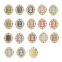 Rhinestone Metal Button Clothing Sew on Strass Crafts Decorations Antique Resin Crystal Snap Jewelry Findings Acryl for Garments