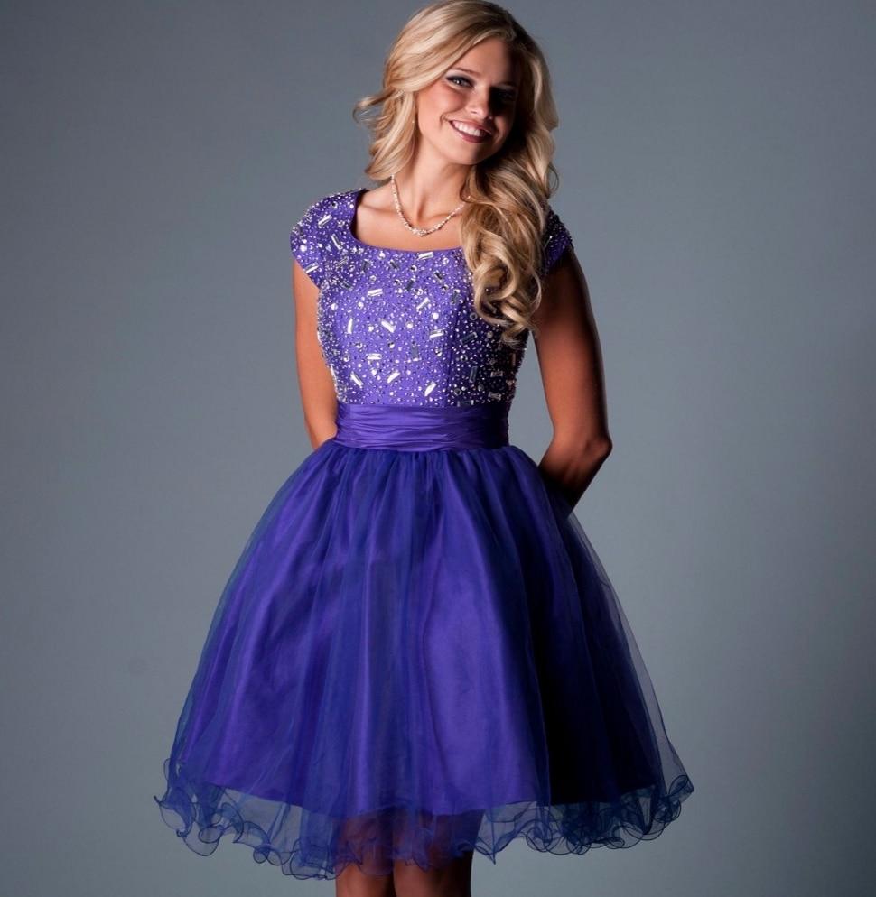 Online Get Cheap Purple Junior Prom Dresses -Aliexpress.com ...