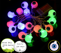 Creative Terror Halloween Bar Decoration Halloween Eyes String Lights Halloween Decoration Party Decoration Lights Outdoor
