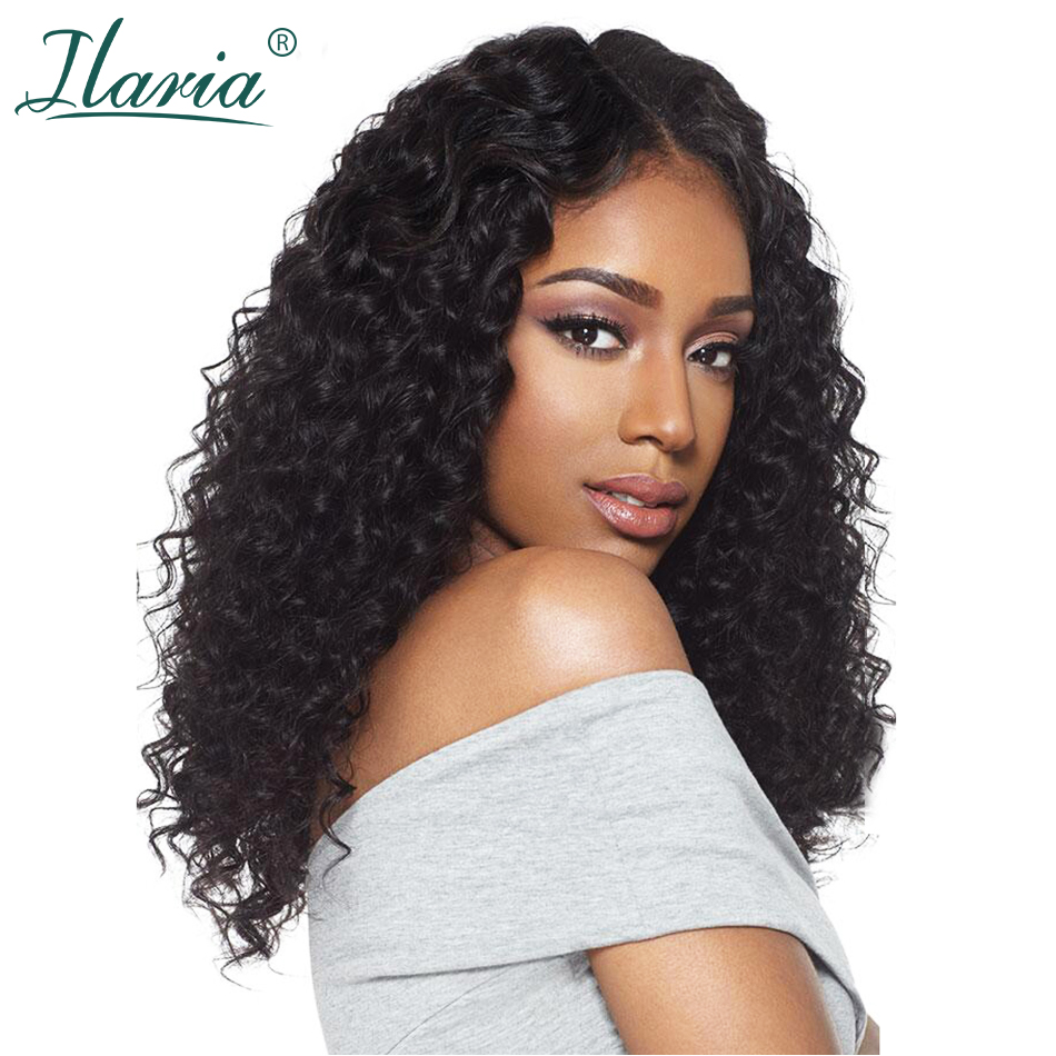 Glueless Lace Front Human Hair Wigs For Black Women Natural Hairline Malaysian Curly Full Lace 360 Frontal Wig With Baby Hair