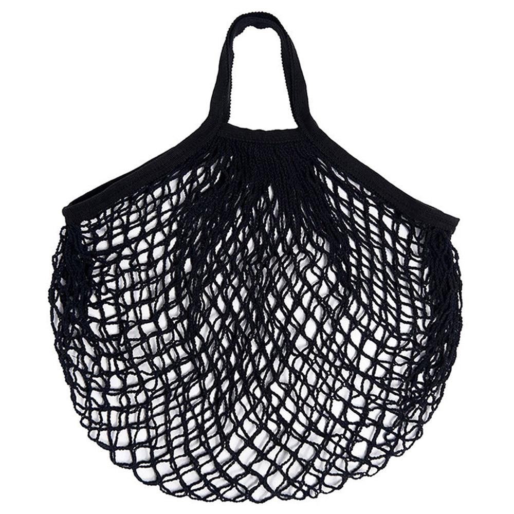 Quality Mesh Shopping Bag Reusable Fruit Storage Bag Totes Top Sale Cloth Women String Net Handbag Wholesale Dropshipping
