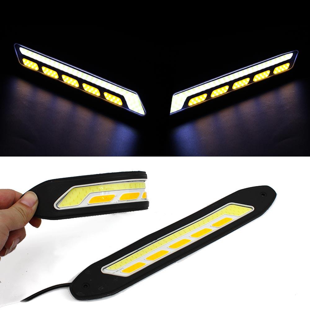 High Quality DRL Multi Shape Daytime Running Lights 10-LED CREE HQ-V20 B
