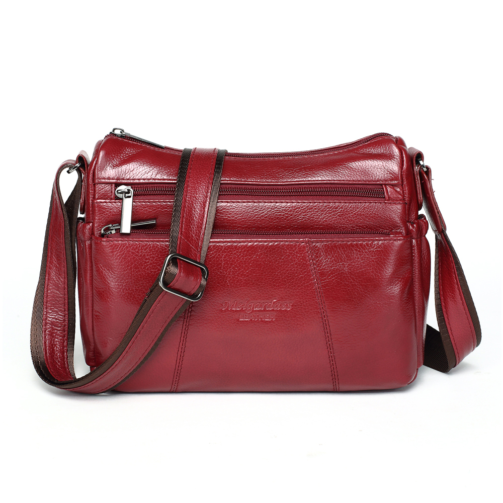 MEIGARDASS Genuine Leather Crossbody bags for women Shoulder Bag Luxury handbags female Tote Purse Wallets Ladies Messenger BagsMEIGARDASS Genuine Leather Crossbody bags for women Shoulder Bag Luxury handbags female Tote Purse Wallets Ladies Messenger Bags