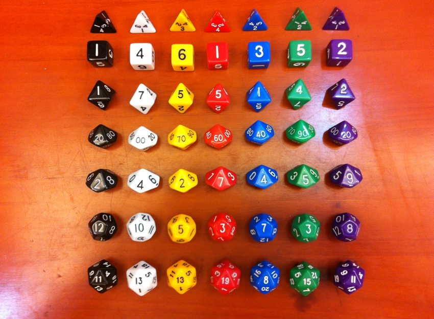 dnd dice (7 dices set) Christmas gift ,Valentines Day gift ,A birthday gift,Children teaching,props,Souptoys