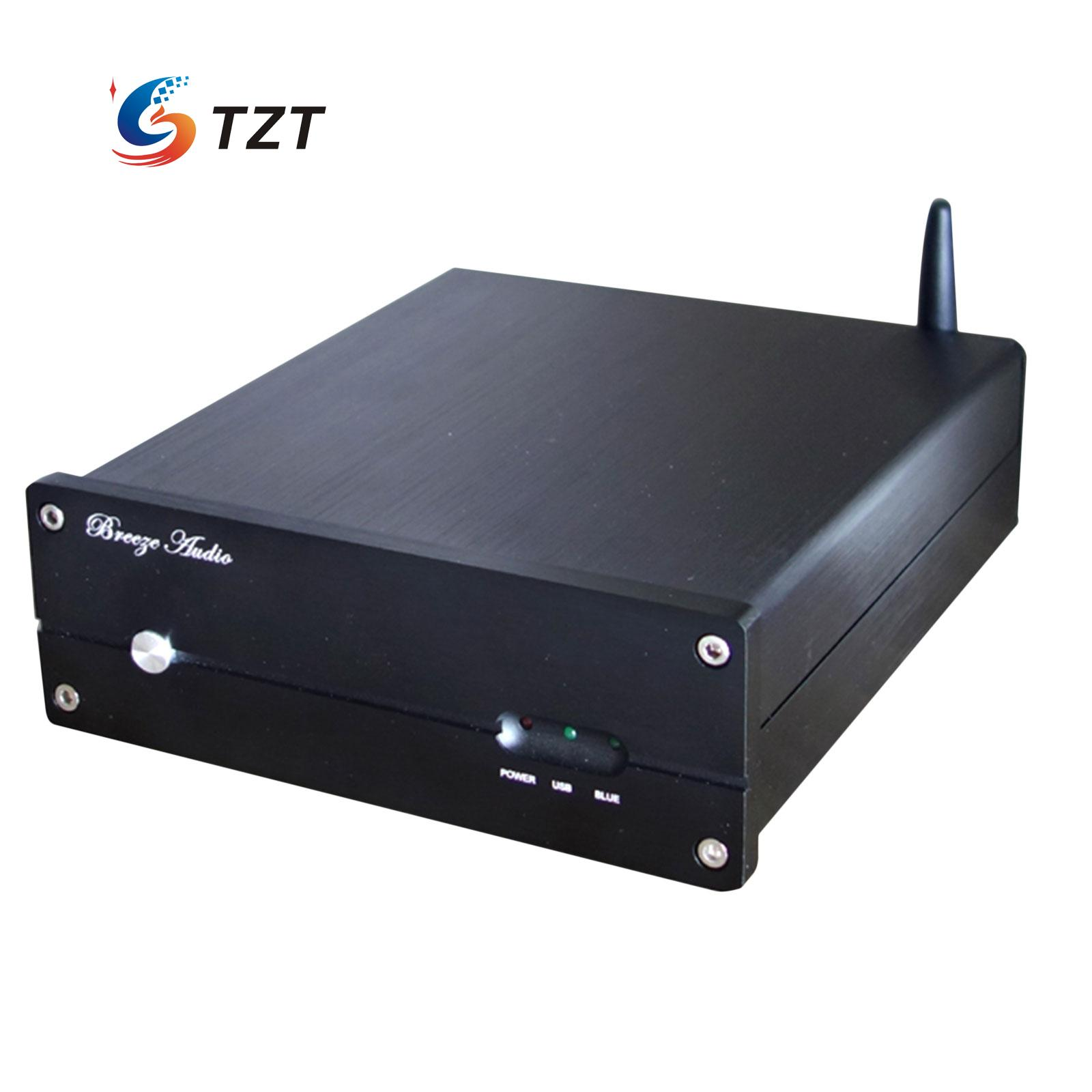 Breeze Audio SNY-20A Bluetooth Turntable USB Decoding ES9018K2M XMOS USB DAC Amplifier Support DSD 24 bit /192khz breeze audio dsd usb dac es9018k2m xmos u8 op275 2 lm49860 class a earphone decoder i2s dsd usb audio amplifier amp