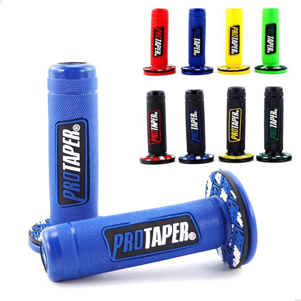 """7//8/"""" Aluminum Handle Bar Hand Grips for Motocross MX Off-Road Motorcycle Pro"""