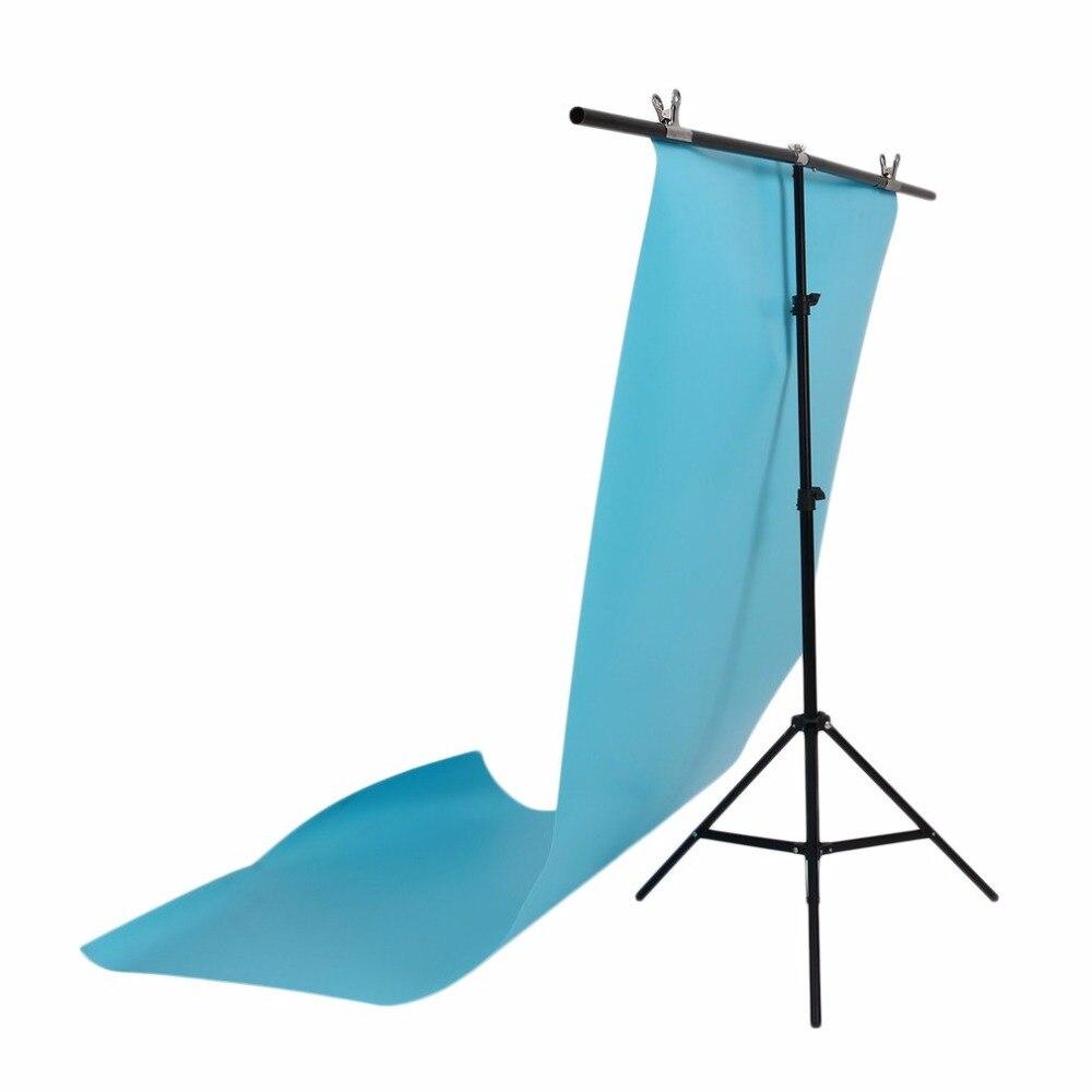 Réglable 1.4*2 m Photographie Fond Cadre Soutien Stand Hauteur Photographique Professionnel Équipement Noir Pour Photo Studio