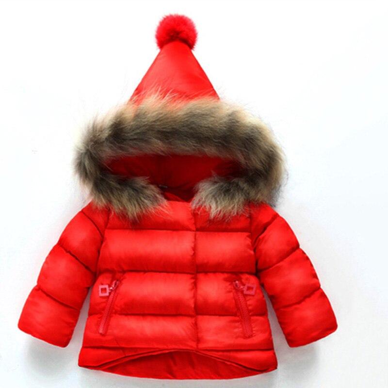 2017, Новая мода для маленьких мальчиков Girlrs зимнее пальто плотное пальто стеганая зимняя куртка