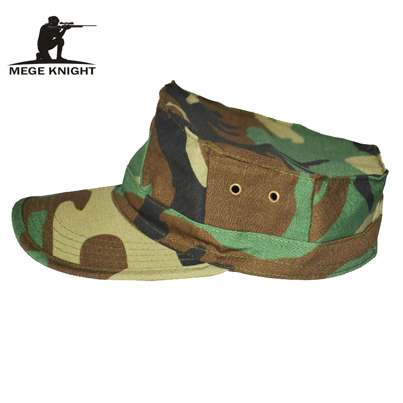 MEGE Unisex Octagonal   Cap   Fashional Airsoft Tactical   Baseball     Cap   Army Men's Hat, Free size 59-60