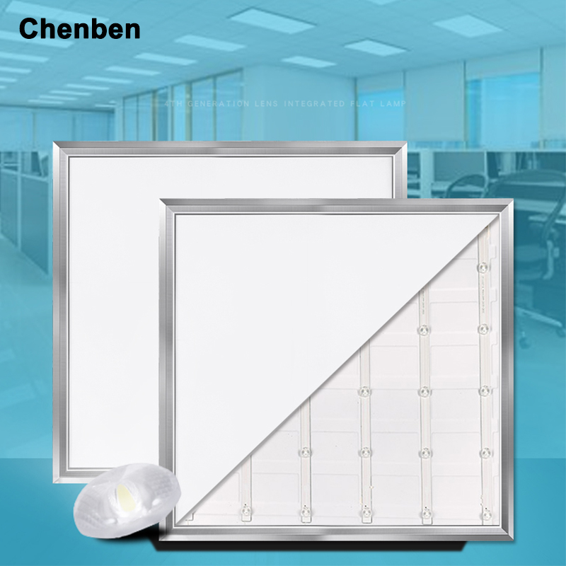 Panel de luz Led de 220 V, iluminación de techo interior, Panel Led Ultra delgado cuadrado de 300*300 MM, luz Led plana montada en superficie, blanco frío de 21W