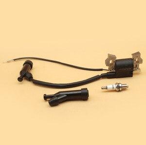 Image 5 - Zündspule Kappe Zündkerze Fit HONDA GX110 GX120 GX140 GX160 GX200 168F 4 Hub Benzin Motor Motor Rasen mäher Generator