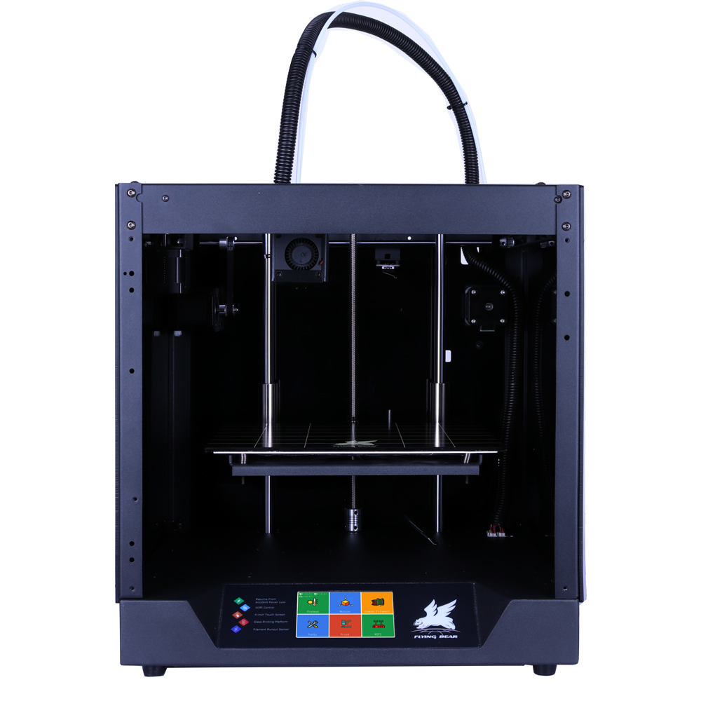 Free shipping Flyingbear-Ghost 3d Printer full metal frame High Precision 3d printer kit imprimante impresora glass platform