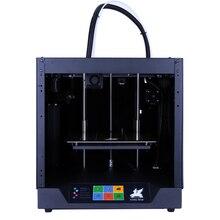 Бесплатная доставка Flyingbear-Ghost 3d принтер полная металлическая рамка Высокоточный 3d Принтер Комплект импримант импрессора стеклянная платформа