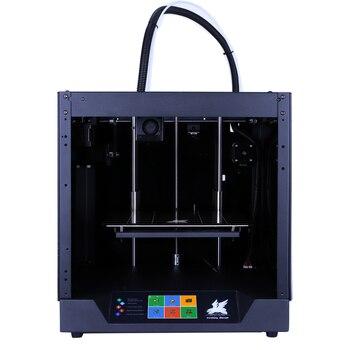 Frete grátis Flyingbear-Ghost4 kit Impressora 3d armação de metal cheia de Alta Precisão impressora 3d imprimante impresora plataforma de vidro