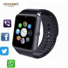 Купить с кэшбэком 2019 HOT GT08 Bluetooth Smart Watch for Iphone Phone for Huawei Samsung Xiaomi Android Support 2G SIM TF Card Camera Smartwatch