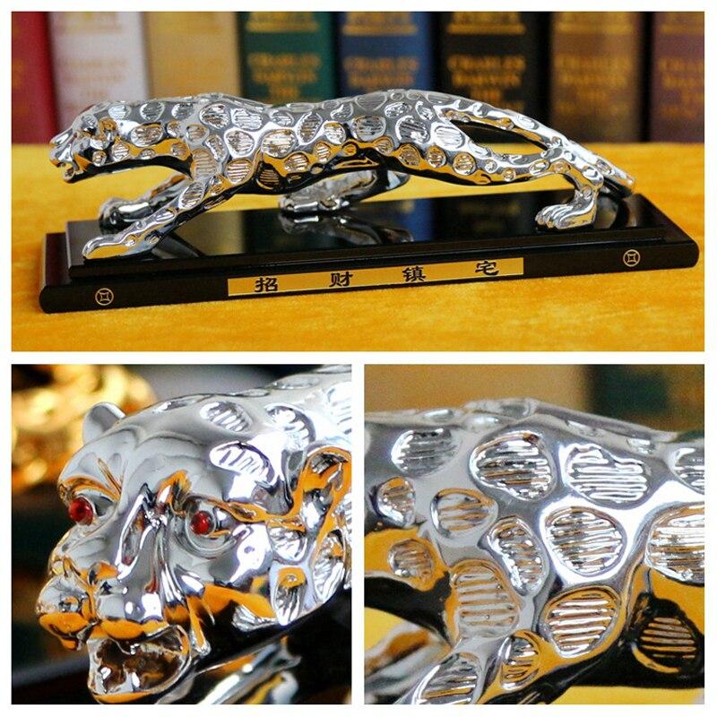 1 pc Grand 27*7.8 CM Panthera Pardus Bête Voiture Ornement Intérieur Désodorisant Parfum Diffuseur Auto Accessoires De Voiture sans Liqui
