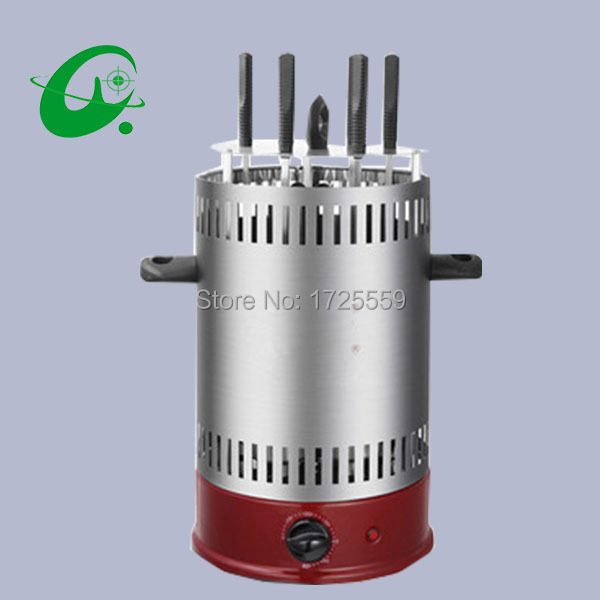 5-8Persons Auto-rotating Electric Househould Grill Barbecue smokeless ovens kebab machine 1pc hot sale 100%quality guaranteed doner kebab slicer two blades electrical kebab knife kebab shawarma gyros cutter