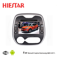 Car DVD GPS Player RDS Android WIFI Bluetooth 8 Capacitive Screen For Renault Captur Samsung QM3