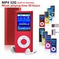 Bateria de alta qualidade mp4 player 32 gb 9 Cores para escolher a Música tempo de jogo 30 horas de rádio FM video player