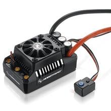 Hobbywing CONTROLADOR DE VELOCIDAD ESC para coche de control remoto, sin escobillas, resistente al agua, para coche de control remoto 1/5 1/6 1/7, EzRun Max5 V3 200A/Max6 V3 160A