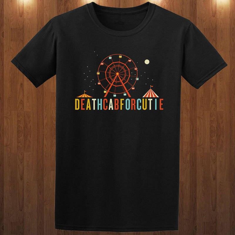 2018 New Casual T Shirt Tee Short Death Cab For Cutie Men Top O-Neck T Shirt