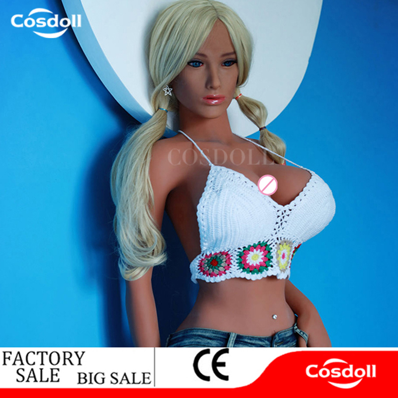 Cosdoll 168cm Full Size Metal Skeleton Female Silicone Sex Doll Big Boobs Buttocks Love Doll Sex Products for Men Masturbation
