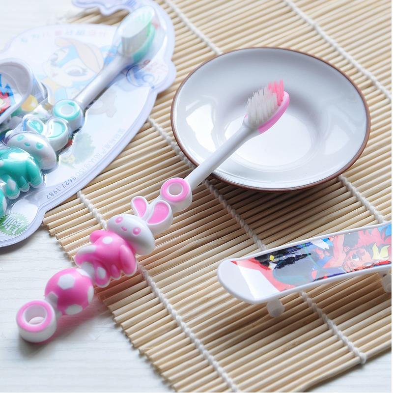 1Pcs Baby Toothbrush Items Teething Kids Infant Toothbrush Soft Rabbit Random Color ...