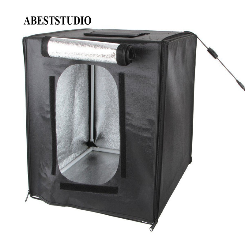 Photo Studio Accessories Consumer Electronics 50*50*50 Cm Abeststudio Led Photo Tent Led Photo Studio Softbox Light Tent Soft Box