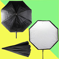 Inseesi 31.5 ''/80 cm octagon paraguas softbox brolly reflector para luz de flash speedlite studio vs godox flash softbox