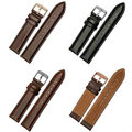 18MM 20MMDW high quality men and women watch strap rose gold silver clasp leather strap