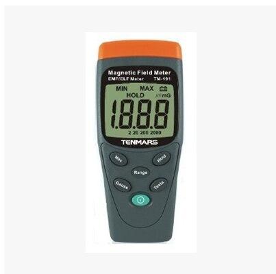 где купить TENMARS TM-191 Magnetic Field High Quality Gauss Meter дешево
