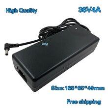 Adaptador de fuente de alimentación de 36V y 4A para controlador LED, AC DC de alimentación de interruptor de 36V y 4A, CC de 36V y 144W, 1 Uds., envío gratis