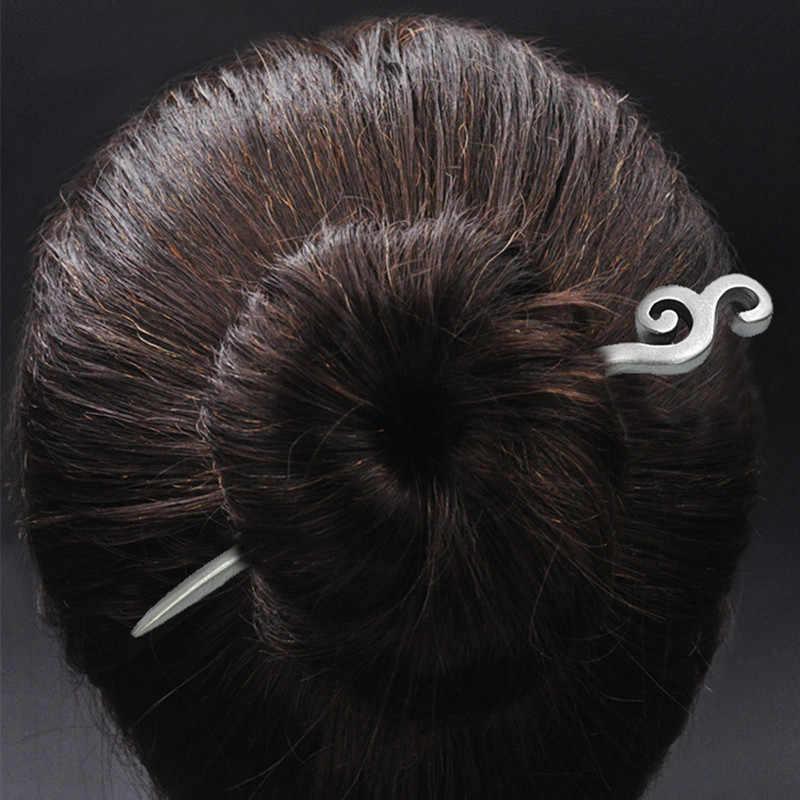 Spoondrift do włosów 925 Sterling Silver biżuteria kobiety spinka do włosów chiński, ręcznie robione, etniczne, w stylu Vintage szpilki do włosów chiny Express powietrza